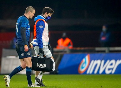 There was good news about Sexton's hamstring injury yesterday.
