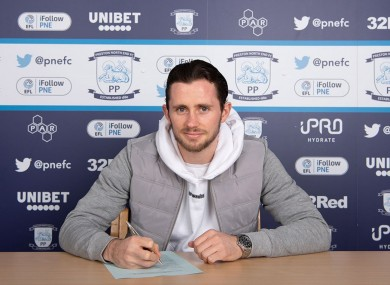 Alan Browne reaffirms his commitment to Preston North End.