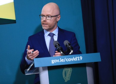 Health Minister Stephen Donnelly had said to expect daily figures to begin this week.