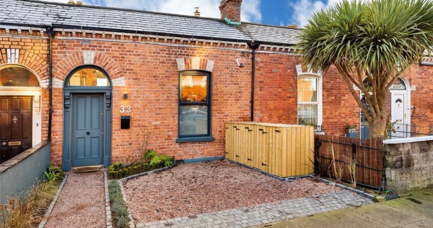 Renovated redbrick with a must-see interior in Drumcondra for €445k