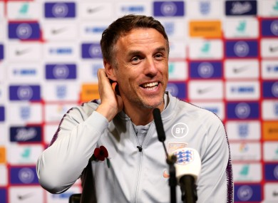 Phil Neville could be heading for a new job in management.