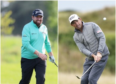 A good third round for Shane Lowry and Padraig Harrington (file photo)