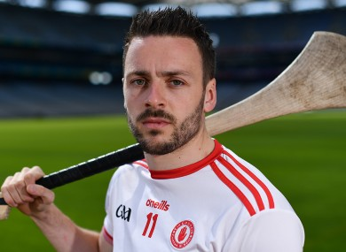 Damian Casey of Tyrone at the Nicky Rackard Cup competition launch at Croke Park in 2018.