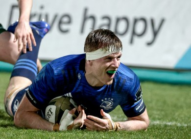 Baird will play for Leinster A today.