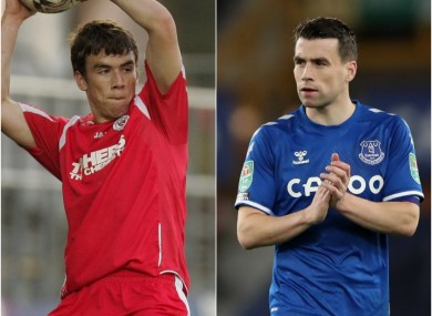 Seamus Coleman began his professional career at Sligo Rovers, before joining Everton in January 2009.