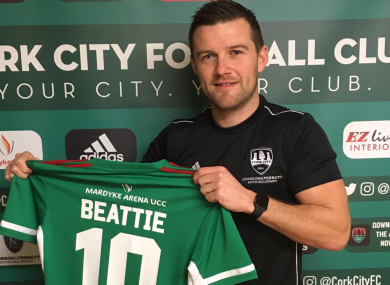 Steven Beattie's return was announced earlier this month