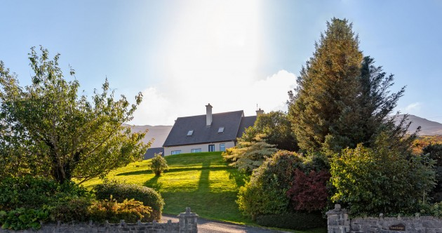 Coastal views and hiking trails at this light-filled retreat near Croagh Patrick