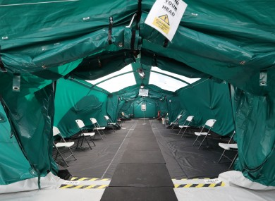 Vaccinations of Health Workers, staff and GP's take place on grounds of St Marys Hospital/Nursing Home in Phoenix Park.