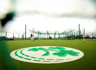A view of the Cricket Ireland training facility.