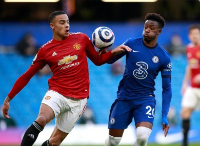 Callum Hudson-Odoi handled the ball but did not concede a penalty
