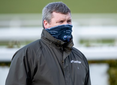 Gordon Elliott (file pic).