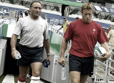 Dave Alred worked with Johnny Wilkinson when England won the World Cup.