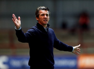 Fleetwood Town manager Joey Barton.