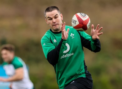 Ireland captain Johnny Sexton is due back from a head injury this weekend.