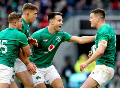 Ireland will look for a strong start in Cardiff.