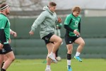 Ireland winger Jordan Larmour and scrum-half Craig Casey.