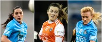Sinéad Goldrick, Aimee Mackin and Carla Rowe are in the running for the senior Players' Player of the Year award.