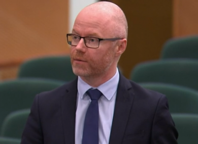 Minister for Health Stephen Donnelly.