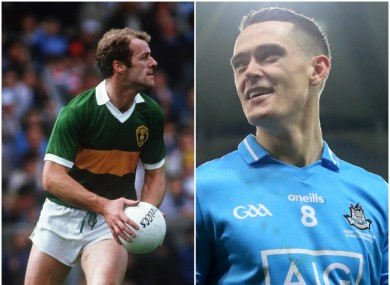 Two of the greats: Jack O'Shea and Brian Fenton.