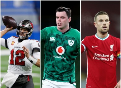 Tom Brady, James Ryan and Jordan Henderson are all in the sporting spotlight this weekend.