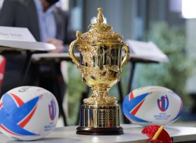The William Webb Ellis Cup.