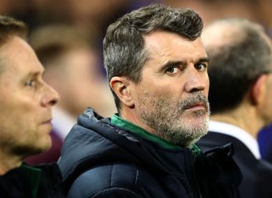 Roy Keane argued with Jamie Redknapp.