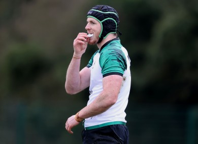 Ryan Baird has yet to play for Ireland but could have a big role in the future.
