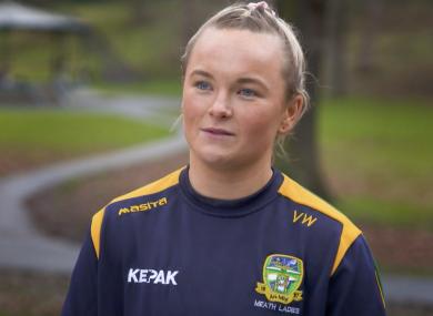Meath football star Vikki Wall.