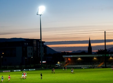 A picture of Austin Stack Park during last year's Kerry county final.