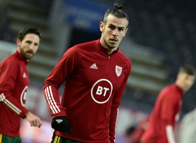 Gareth Bale fears his days in a Wales shirt could be drawing to an end.
