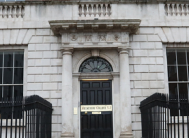 The outside of Belvedere College in Dublin.