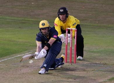 Balbirnie in action for Glamorgan in last year's T20 Blast.