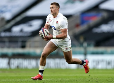 England centre Henry Slade is a doubt for Saturday.