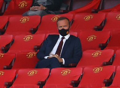Manchester United Chief Executive Ed Woodward (file pic).