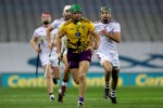 Matthew O'Hanlon in action for the Wexford hurlers last year.