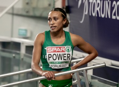 Ireland's Nadia Power after competing in the Women's 800m semi-final.