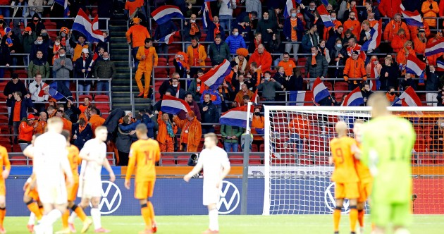 Fans in attendance as Netherlands bounce back and Frappart makes history