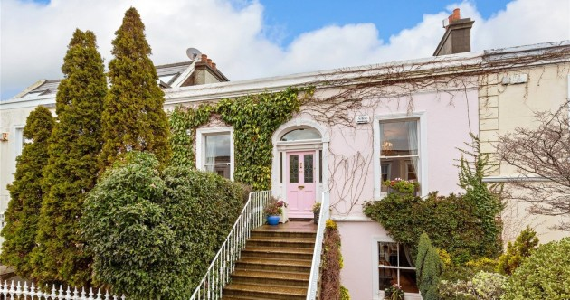Pretty in pink: Lavish €1.3m home with an eye-catching exterior steps from the Forty Foot