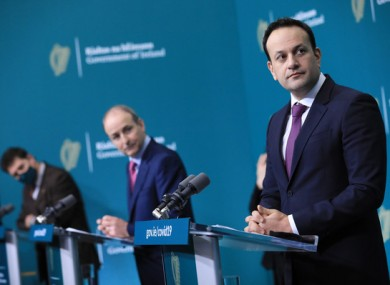 Some TDs have called for restrictions to be put on a county-basis dependent on the incidence rate.