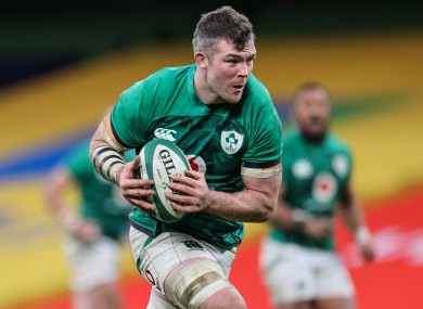 Ireland flanker Peter O'Mahony.