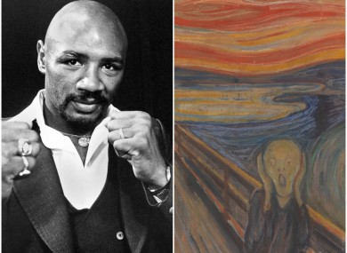 Marvin Hagler and 'The Scream'
