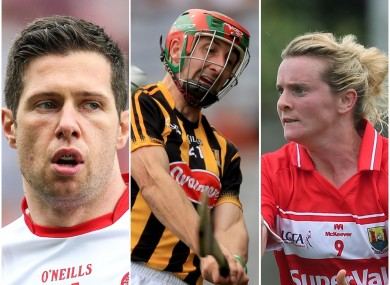 Sean Cavanagh, Eoin Larkin and Briege Corkery are all set to feature.