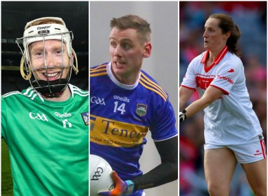 Cian Lynch, Conor Sweeney and Martina O'Brien all picked up awards.
