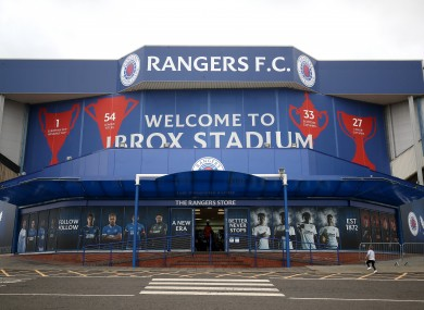 Ranger finish their season at home to Aberdeen.