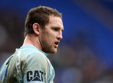 Craig Newby pictured during his time with Leicester Tigers.