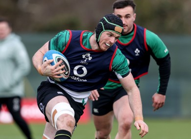 Ryan Baird impressed off the bench on his debut in Italy.