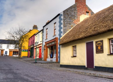Bunratty Folk Park, Co Clare.
