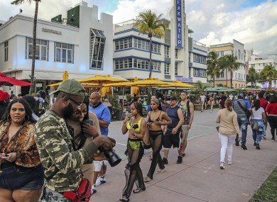 Officials have voted to extend a highly unusual 8pm curfew for another week along famed South Beach