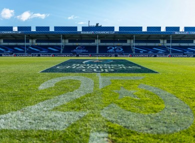 Leinster will play Exeter at Sandy Park.
