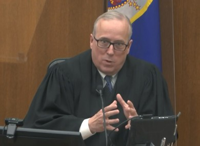 Hennepin County Judge Peter Cahill discusses motions before the court today